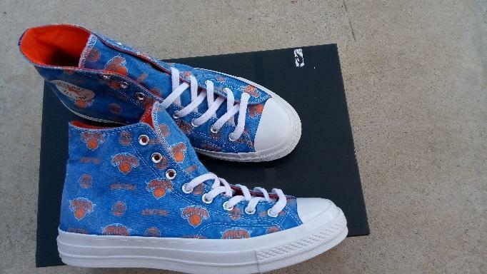 NBA Official Official Official licensed Converse Chuck Taylor All Star New York Knicks Größe 9 caa8c4