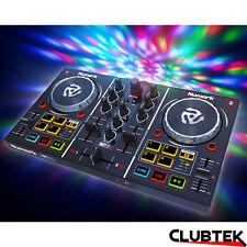 Numark Party Mix DJ Controller, Built-In Light Show Serato DJ Lite/Virtual DJ LE