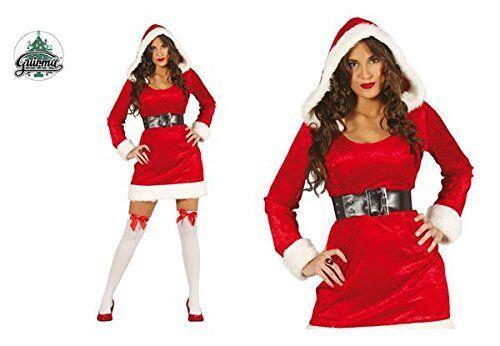 COSTUME MAMMA NATALE BABBO NATALE DONNA BABBA NATALE Carnevale Santa Claus Abito