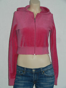 Original-Juicy-Couture-Nicki-Stoff-Jacke-Trainingsjacke-Sport-Gr-L