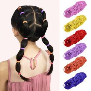 50-pcs-Thin-Elastics-Snag-Free-Hair-Bands-Ponytail-Bobbles-Ponios-Hairband-Top