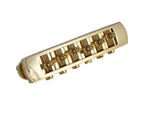 Gold-Roller-Tunematic-Guitar-Bridge-w-Hidden-Studs-2-1-16-034-Spacing-GB-0591-002