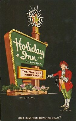 Houston TX Free Shipping Vintage Holiday Inn Astroworld Advertising Card