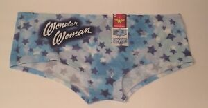 244891ccbd6 DC Comics Womens Wonder Woman Hipster Panties Lrg Tie Dye Design ...