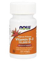 Now Foods Vitamin-d3 10000 Iu 120 Gels