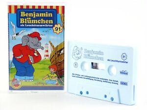 Benjamin-Bluemchen-91-als-Leuchtturmwaerter-KIOSK-Hoerspiel-MC-Kassette