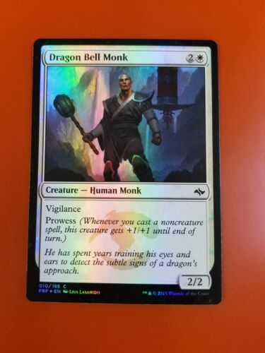 Details about  /1x Dragon Bell MonkFOILFate ReforgedMTG Magic Cards