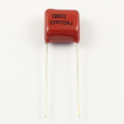 US Stock 10pc CBB CBB22 Metallized Film Capacitor 0.22uf 220nf 0.22mfd 224J 400V