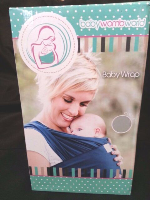 e4779f07462 Baby Womb World Baby Sling Wrap Carrier for Newborns Blue Q3 G13 for sale  online