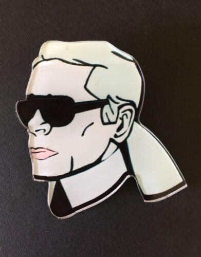 Karl Lagerfeld Brosche Pin Luxus Karlito Karlchen