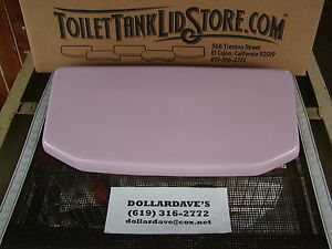 American Standard 4078 Orchid Pink Toilet Tank Lid 735007