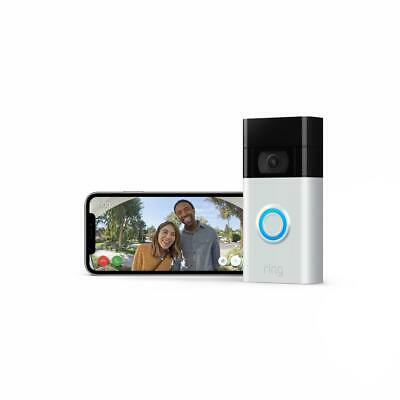 Ring Wireless Video Doorbell Chime Kit Remote Wi-Fi Access ADT Pulse,Ring,Samsun