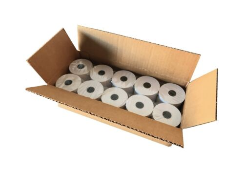 "Thermal Paper Rolls BAM POS 3-1//8/"" x 230 ft White Pack of 10"
