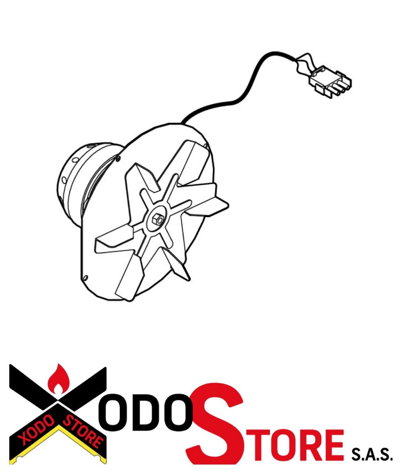 Estrattore fumi IPC 18020 CAMINETTI MONTEGRAPPA ORIGINALE per stufe a pellet