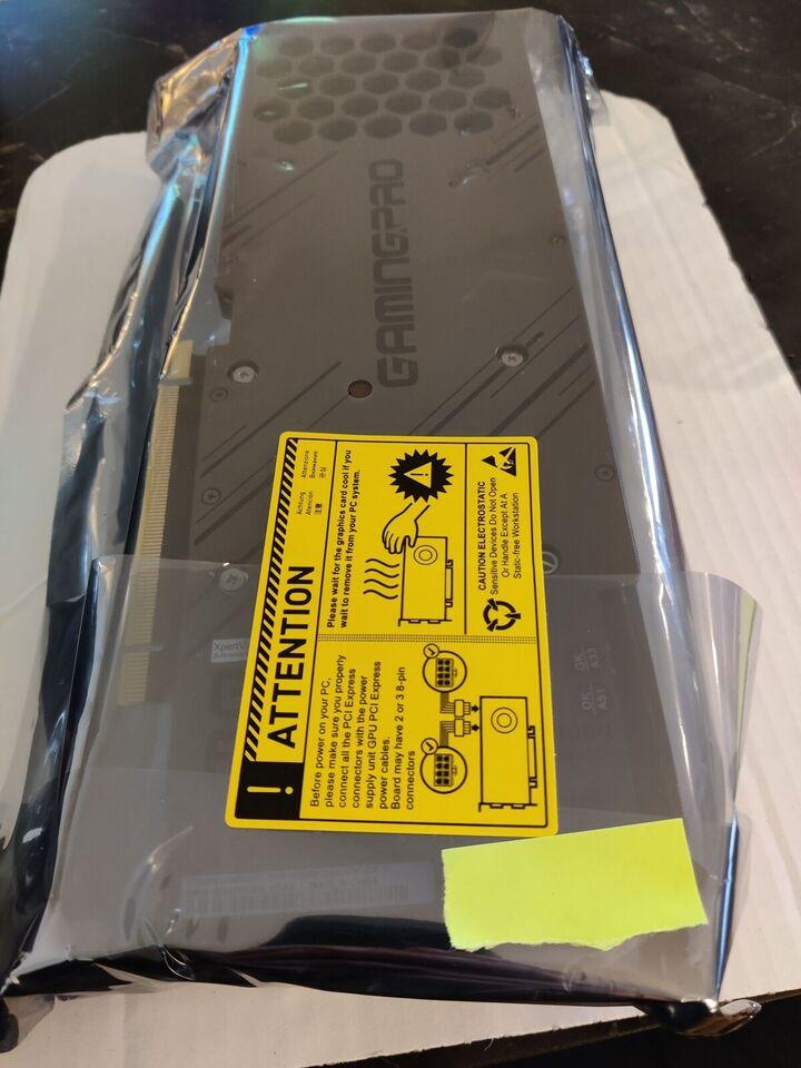 RTX 3080 Palit Gaming Pro, 10 GB RAM, Perfekt