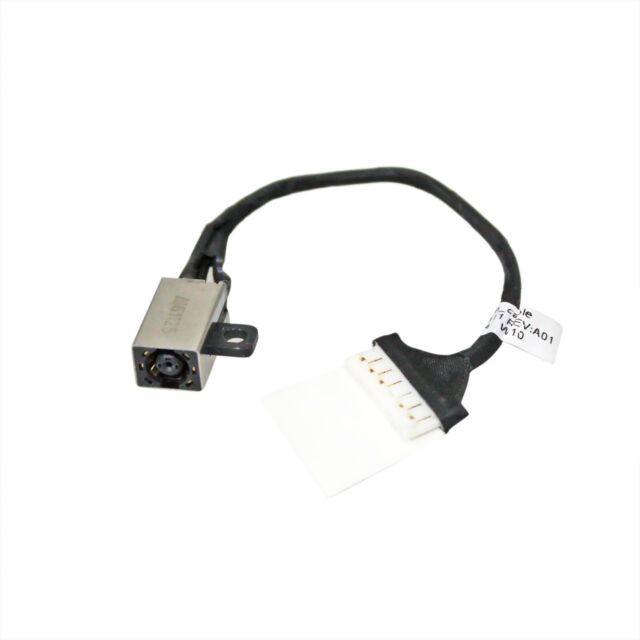 DC Power Jack Cable Dell Inspiron 15-3567 Laptop FWGMM 0FWGMM 450.09W05.0011 JF1