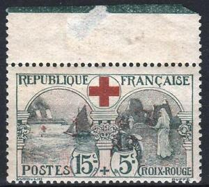 FRANCE-STAMP-TIMBRE-156-034-CROIX-ROUGE-INFIRMIERE-15c-5c-034-NEUF-xx-TB-A-VOIR-P238
