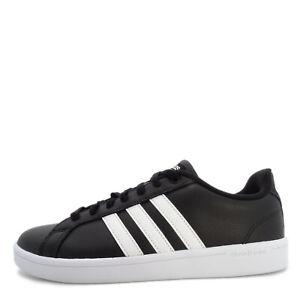 Details about Adidas NEO Cloudfoam Advantage [B74264] Men Casual Shoes Black/White