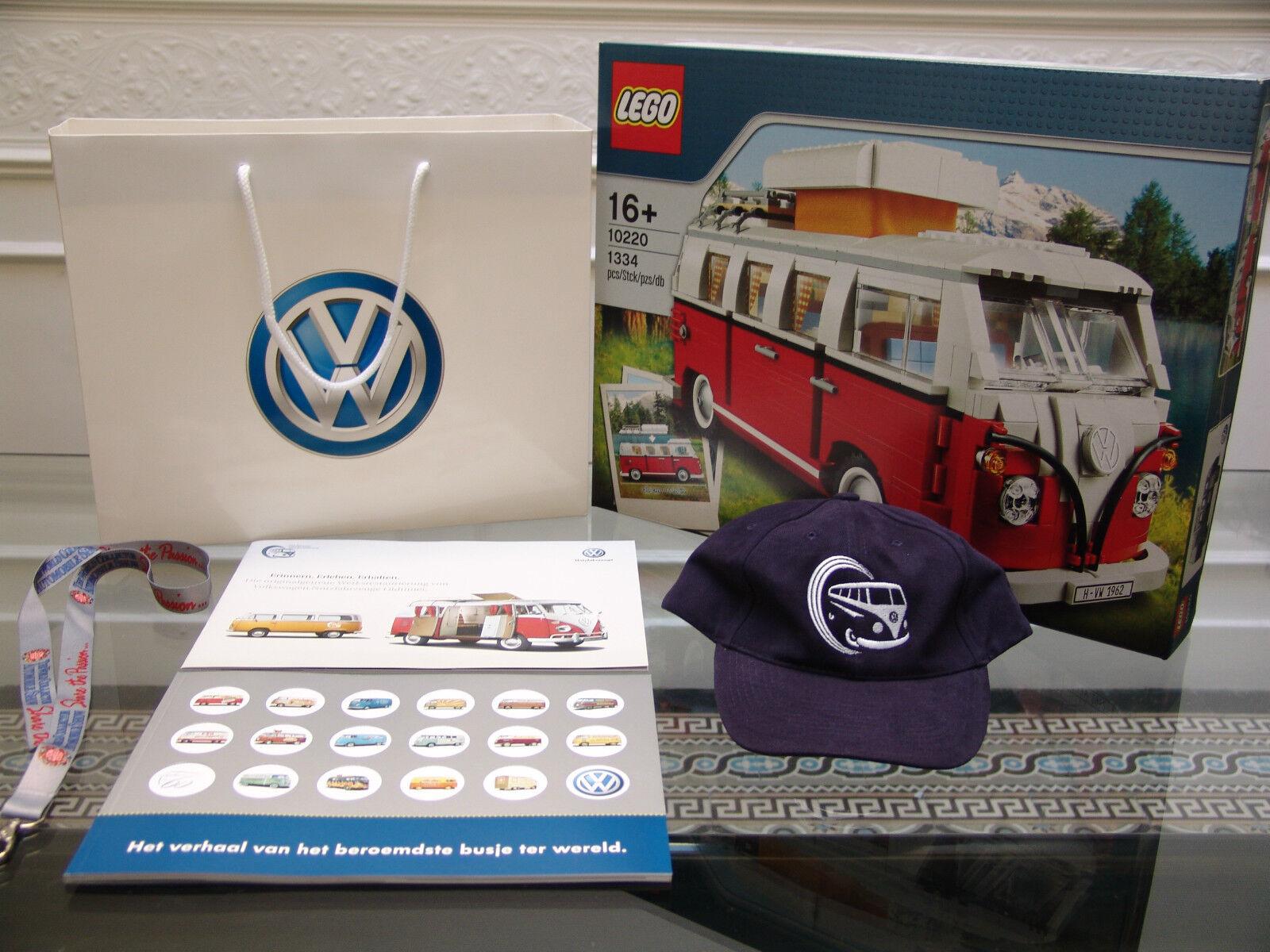 2011 Lego Creator 10220 Volkswagen T1 Camper Van Y En Caja Sellada + Wolfsburgo Exclusives