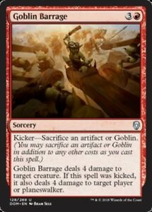 4x-Goblin-Barrage-MTG-Dominaria-NM-Magic-Regular