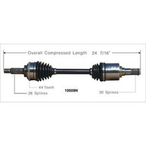 CV Axle Shaft-Duralast Gold AIT CV Axle Front Left DURALAST GOLD by AutoZone