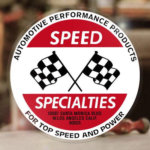 Speed Specialties Autocollant sticker voiture 427 v8 Hot Rod autocollante PEGATINA