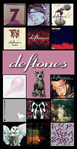 Details about DEFTONES album discography magnet (4 5