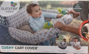 New Free S Summer Infant 2-in-1 Cushy Cart Cover and Seat Positioner Diamonds