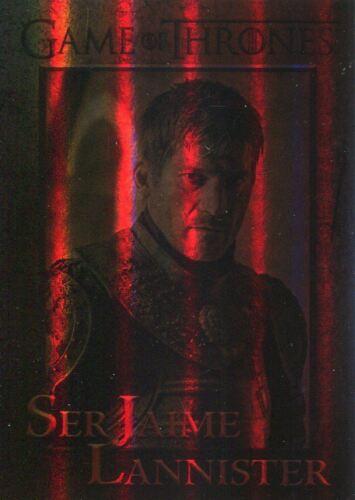 Game Of Thrones Season 7 Foil Parallel Base Card #23 Ser Jaime Lannister