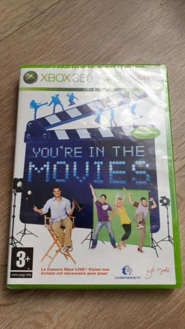 You''re in the Movies pour Xbox 360 NEUF sous blister