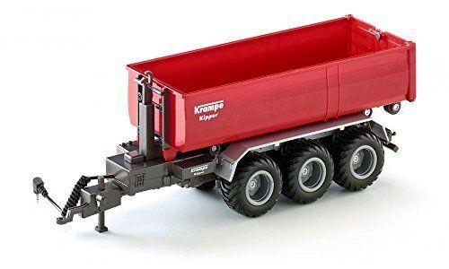R   c 3-axled hooklift trailer - druckguss fahrzeug - siku 6786