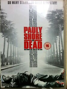Pauly Shore is Dead DVD 2005 Cult Comedy w/ Eminem Dr Dre and Charlie Sheen