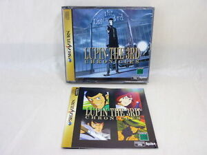 LUPIN-THE-3RD-CHRONICLES-Lupin-Ver-Blue-Sega-Saturn-ss