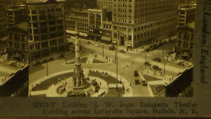 Stereoview-Photo-Buffalo-New-York-ny-Hotel-bANKS-Stores-Buildings-signs-Card