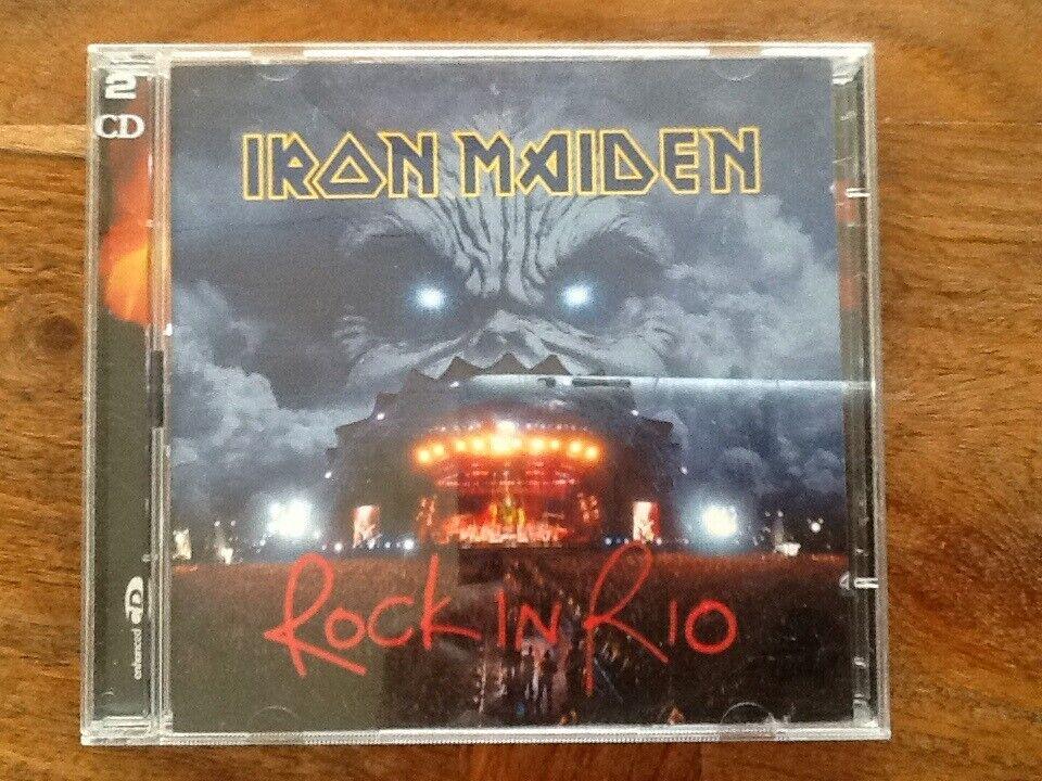 Iron Maiden: Rock In Rio, rock