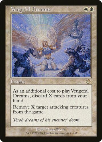Vengeful Dreams Torment PLD White Rare MAGIC THE GATHERING MTG CARD ABUGames