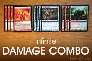 Details about Infinite Damage Combo / Sinking Fire Morselhoarder (Blue  Green Red Deck) MTG Lot