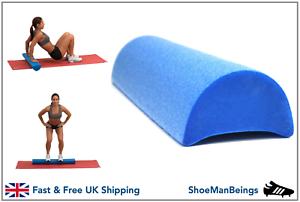 half foam yoga rollers deep tissue gym trigger point