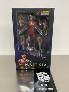Hiya-Toys-DC-Comics-Injustice-2-The-Flash-1-18-Scale-Action-Figure-New-Sealed