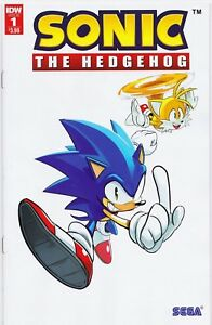 SONIC-THE-HEDGEHOG-2018-1-2nd-Print-New-Bagged-S