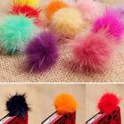 Hot Rabbit Fur Ball Earphone Anti Dust Plug Cover 3.5mm For Cell Phone Popular
