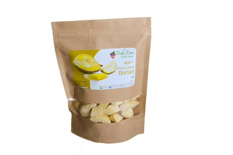 Freeze dried durian sweet and delicious from Thailand  Mall dried fruit for healt  the most fashionable