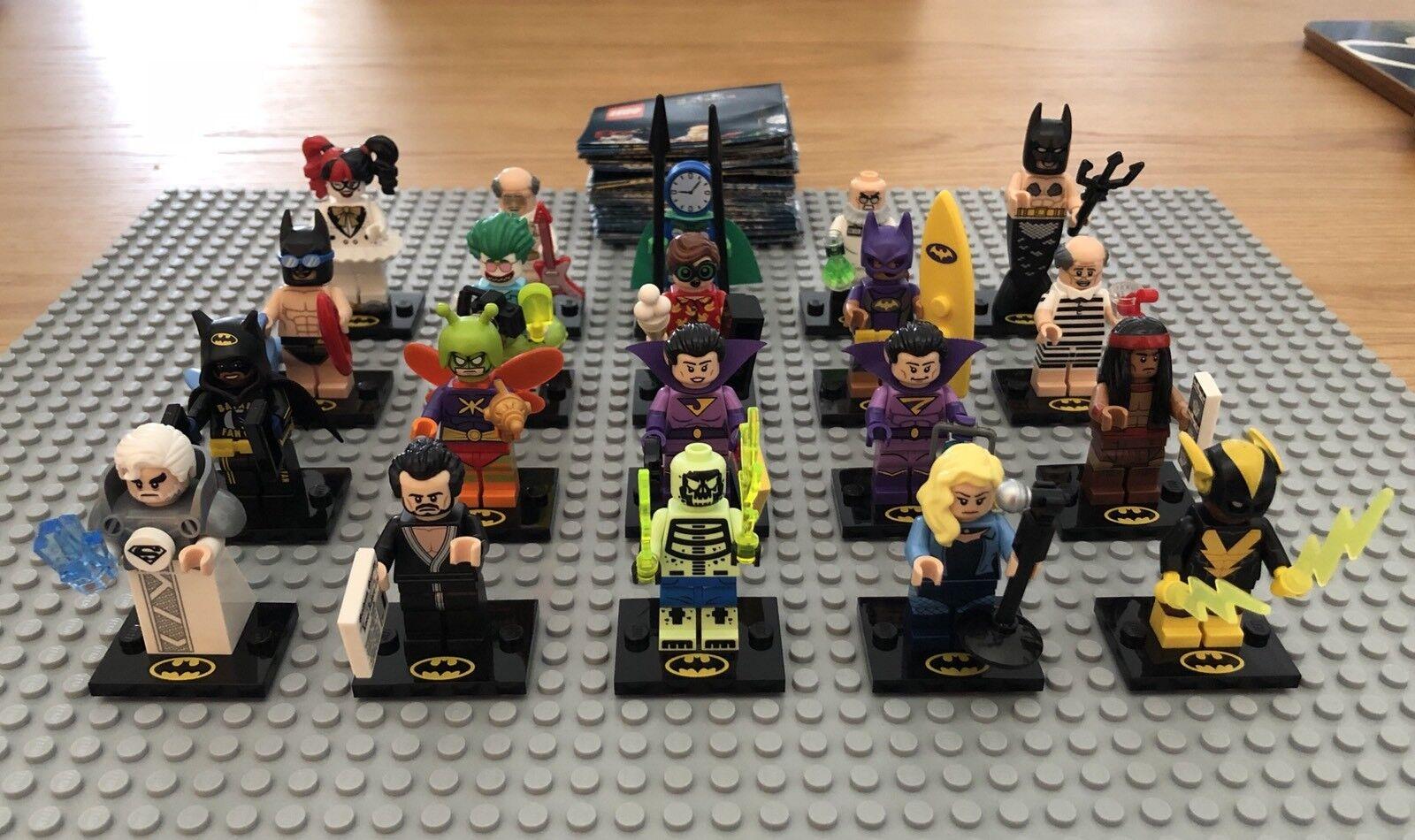 LEGO Batman Movie Series 2 Minifigures 71020 Complete Set. Brand New. Boxed