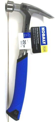 One Kobalt 20 Oz Heavy Duty Forged Steel Rip Claw Slip Resistant Handle Hammer