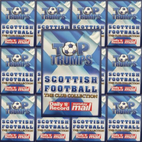 Top-Trumps-Sunday-Mail-Scottish-Football-Club-Collection-Single-Cards-Various