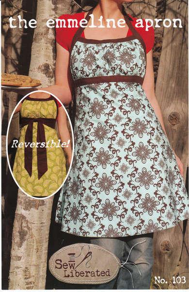 Emmeline Apron Sew Liberated Patterns Sew-n103 | eBay
