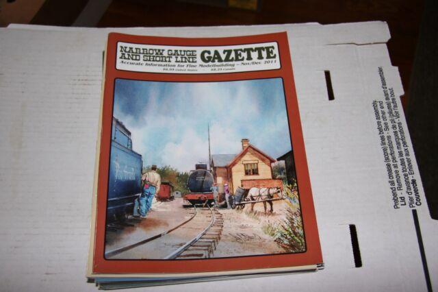 NARROW GAUGE & SHORTLINE GAZETTE ISSUE 11/12 2011
