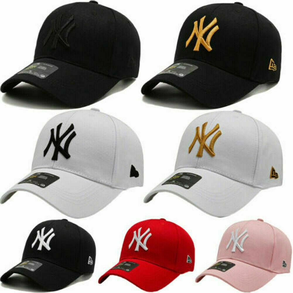 Unisex para Hombre para Mujer Gorra De Béisbol NY Snapback Ajustable Deporte Hip-Hop Sombrero de Sol