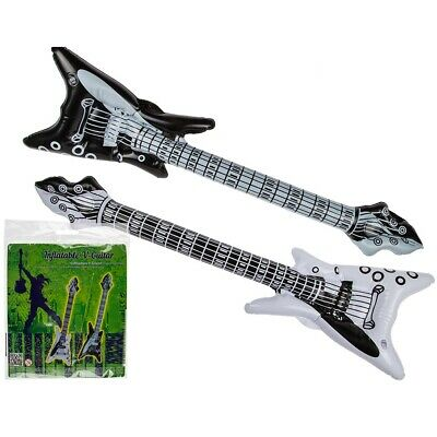 "20 Stück Aufblasbare Luftgitarren /""V-Gitarre/"" 90 cm Luftgitarre Air Luft Guitar"