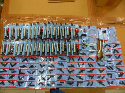 Restposten 109x Fahrrad Ersatzteile LED Beleuchtung Lampe Ständer Bremsklötze